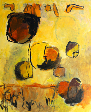 Engelina Zandstra Artwork Composition 4180, 2015 Composition 4180, Abstract Figurative