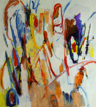 Engelina Zandstra Artwork Composition 4302, 2015 Composition 4302, Abstract Figurative