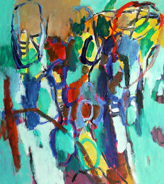 Engelina Zandstra Artwork Composition 4303, 2015 Composition 4303, Abstract Figurative