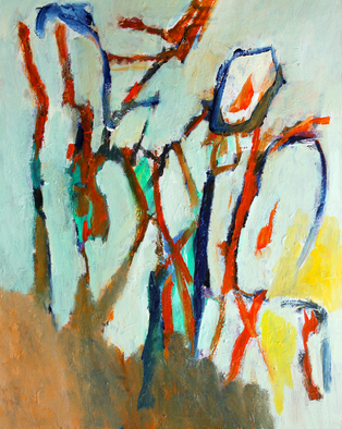 Engelina Zandstra Artwork Composition 4304, 2015 Composition 4304, Abstract Figurative