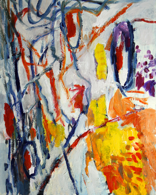 Engelina Zandstra Artwork Composition 4308, 2015 Composition 4308, Abstract Figurative