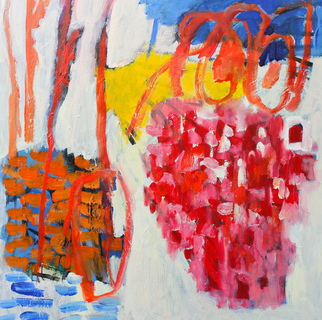 Engelina Zandstra Artwork Composition 4310, 2015 Composition 4310, Abstract Figurative