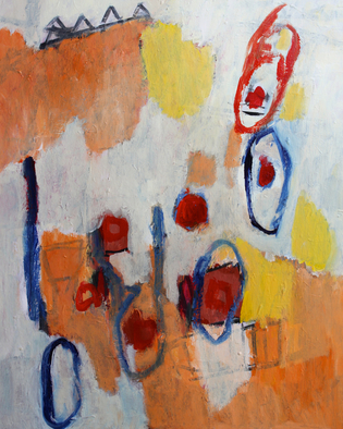 Engelina Zandstra Artwork Composition 4311, 2015 Composition 4311, Abstract Figurative