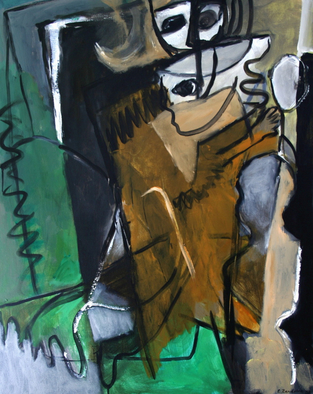 Engelina Zandstra Artwork Composition 927, 2003 Composition 927, Abstract Figurative