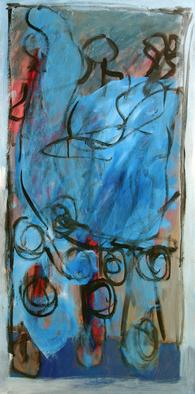 Artist: Engelina Zandstra - Title: Concerto 1 - Medium: Acrylic Painting - Year: 2010
