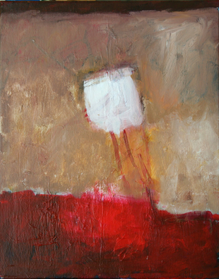Artist: Engelina Zandstra - Title: Small composition - Medium: Acrylic Painting - Year: 2004
