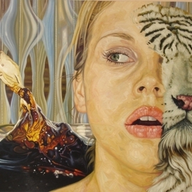 Enrique Monraz: 'especies', 2007 Oil Painting, Figurative. Artist Description:  different kind of species ...