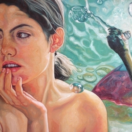Enrique Monraz: 'eva', 2007 Oil Painting, Figurative. Artist Description:  a woman ...