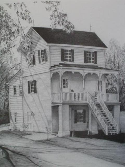 King And Queen Museum Pencil Drawing By Michael Martin