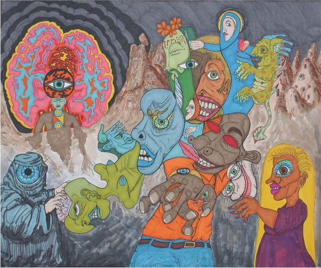 Shawn Corbett  'Freudian Slumber Party', created in 2010, Original Drawing Other.