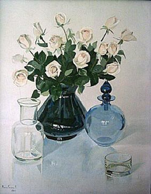 Maria Teresa Fernandes: Alves Collection, 1981 Oil Painting
