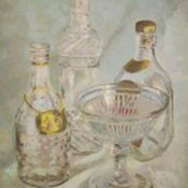 Bottles and bowl By Maria Teresa Fernandes