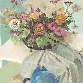 Flowers On A Table, Maria Teresa Fernandes