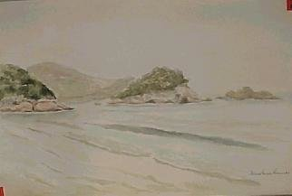 Maria Teresa Fernandes Artwork Swim or rest, 1970 Watercolor, Sports