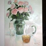 roses and yellow bowl By Maria Teresa Fernandes
