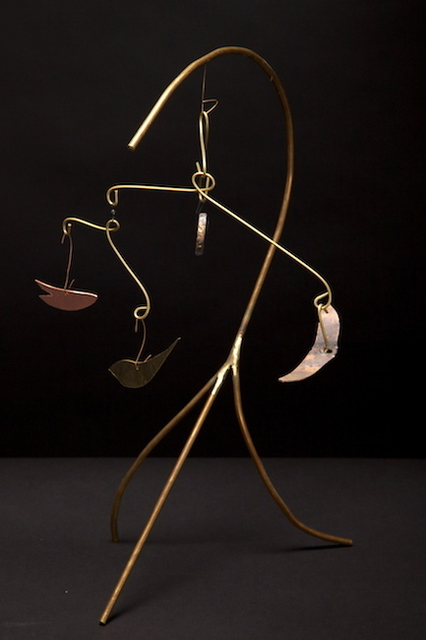 Eric Jacobson  'BrassMobile I', created in 2010, Original Sculpture Mixed.