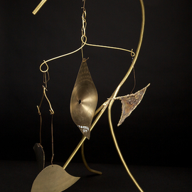 Eric Jacobson Artwork BrassMobile III, 2011 Other Sculpture, Abstract
