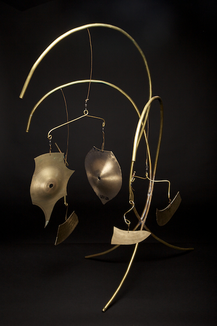 Eric Jacobson  'Brass Mobile V', created in 2011, Original Sculpture Mixed.