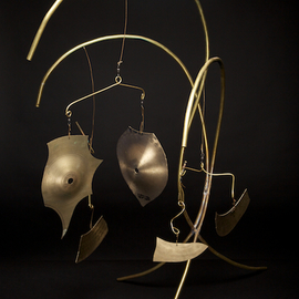 Eric Jacobson Artwork Brass Mobile V, 2011 Other Sculpture, Abstract