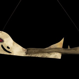 Eric Jacobson Artwork Brass Whale, 2009 Other Sculpture, Animals