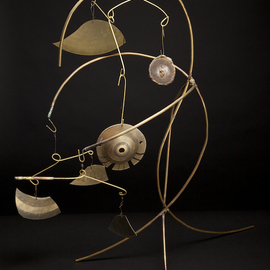 Eric Jacobson Artwork Brassmobile IV, 2011 Other Sculpture, Abstract