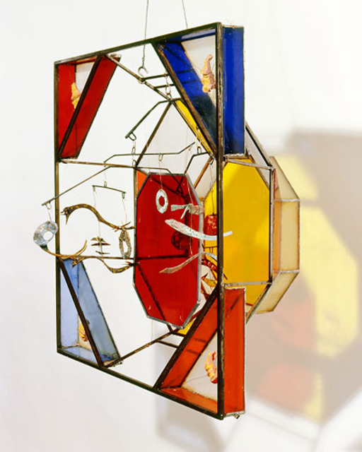 Eric Jacobson  'OctiSquare III', created in 2002, Original Sculpture Mixed.