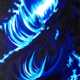 Eric Korbly: 'Infinity 11', 2009 Oil Painting, Cosmic.