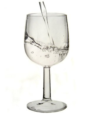 Still Life Pencil Drawing by Eric Stavros Title: glass of water, created in 2009