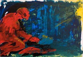 Artist: Erika G. Johannsson - Title: Favors of fortune - Medium: Acrylic Painting - Year: 2011