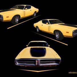 Erik Hoynes: 'Charger', 2004 Color Photograph, Automotive. Artist Description: sizes are 11x14 13x19 20x24 24x30...