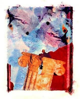 Erik Hoynes Artwork Fire rome , 2004 Polaroid Photograph, Abstract