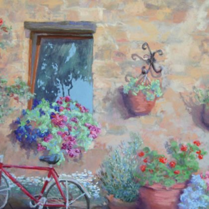 , Spring Day In Sovana, Landscape, $761