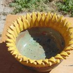sunflower bowl By Esta Bain