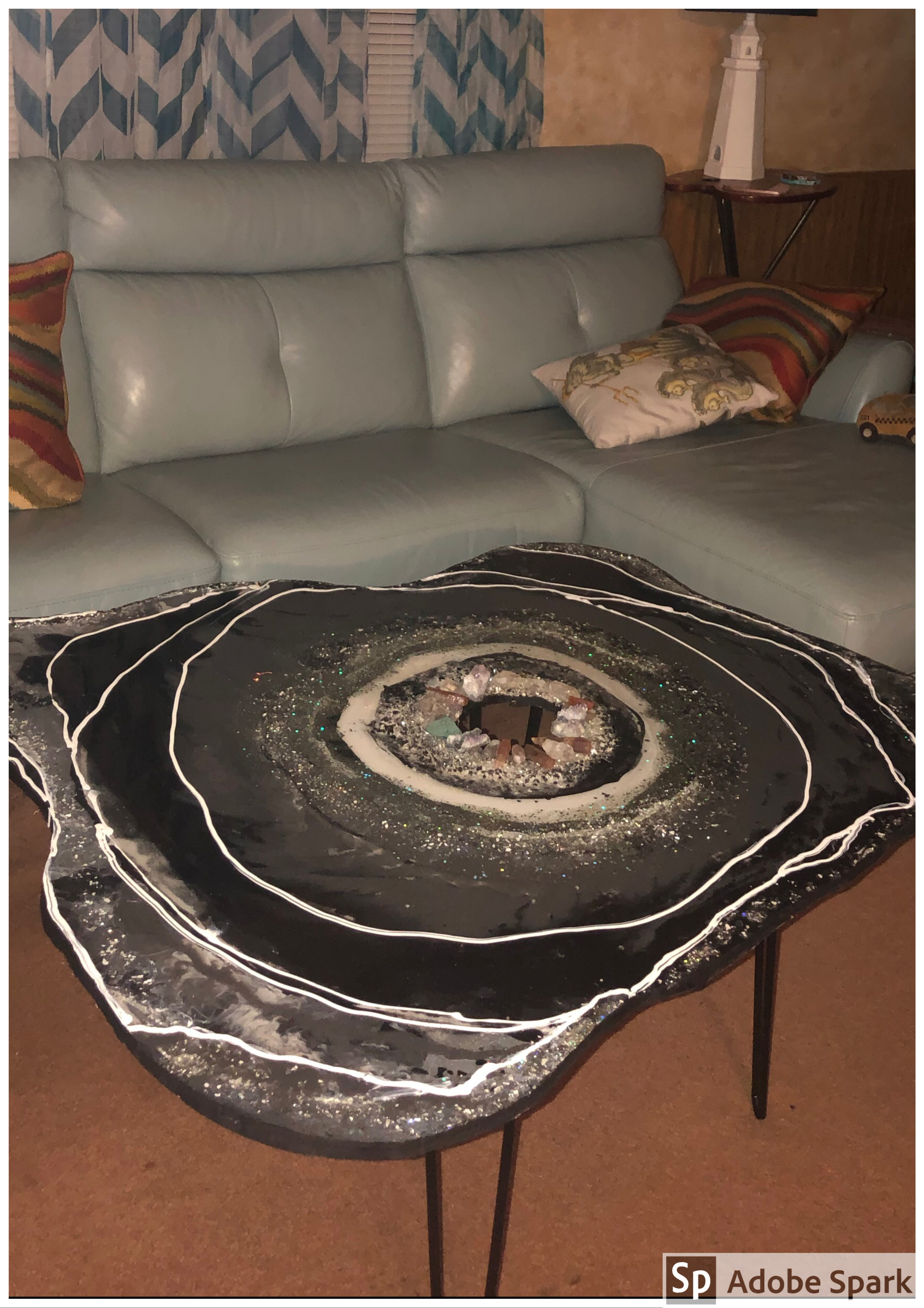 The Geode Coffee Table Other Sculpture Type By Elizabeth Ansel Absolutearts Com