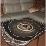 the geode coffee table By Elizabeth Ansel