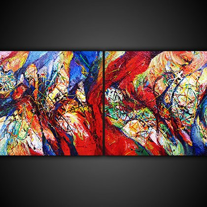 , Pas De Deux, Abstract, Not For Sale