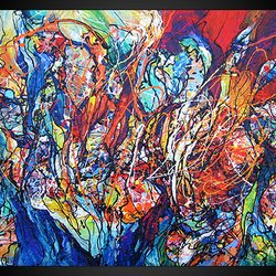 , The Light From Within, Abstract, $1,890