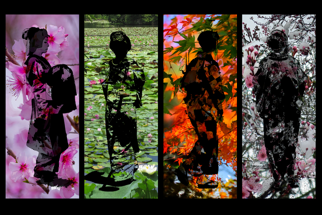 Evelyn Espinoza  'The Four Seasons Of Japan', created in 2017, Original Photography Digital.