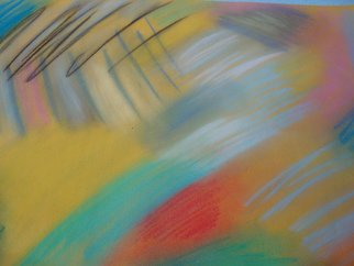 Evelyne Ketterlin: 'Sunny', 2015 Pastel, Atmosphere. Artist Description:  Pastelpicture Sunny. On paper.  ...
