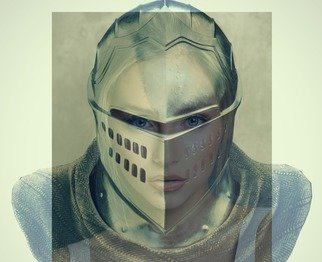 Michale Kors: 'knight lady', 2020 Digital Art, Digital. Combined photos in to a digital art...