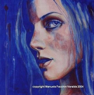 Manuela Facchin Varalda: 'Reflect 3', 2004 Mixed Media, Figurative.  original artwork unique piece ...