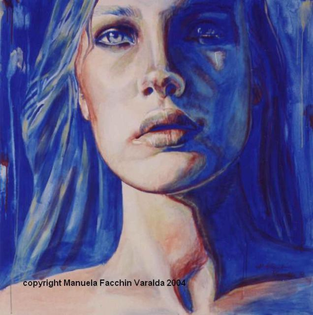 Artist Manuela Facchin Varalda. 'Reflect 4' Artwork Image, Created in 2004, Original Painting Acrylic. #art #artist