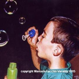 soap bubbles By Manuela Facchin Varalda