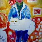 Girl With Cat, Faith Copeland