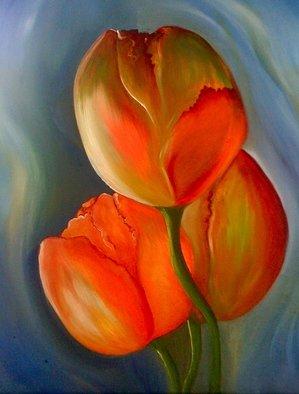 Fanny Diaz Artwork tulips, 2009 Neon, Nature
