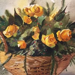 , Yellow Roses, Floral, $471