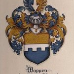 Family Crests Custom Coat Of Arms On Paper , Gerhard Mounet Lipp