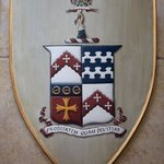 Medieval Knight Shield With Coat Of Arms Painting, Gerhard Mounet Lipp