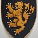 Coat Of Arms Knight Shield, Gerhard Mounet Lipp