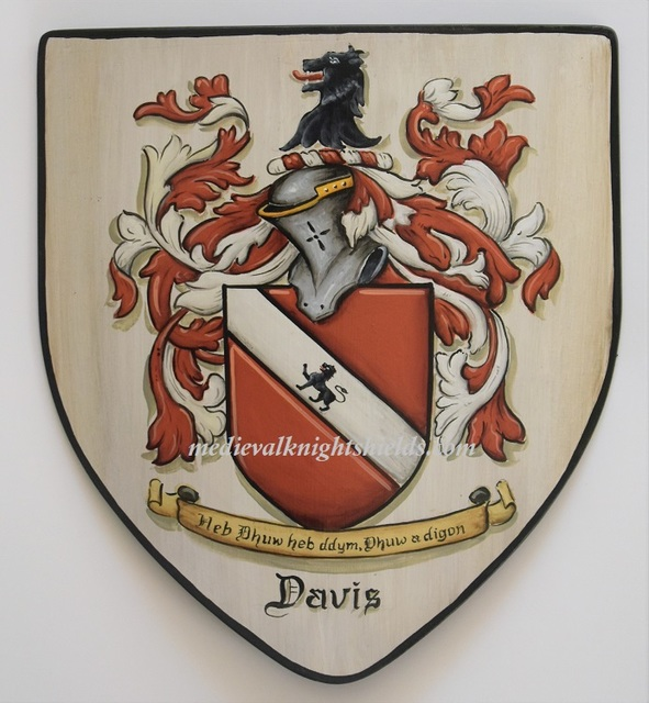 Gerhard Mounet Lipp  'Coat Of Arms Knight Shield', created in 2018, Original Painting Other.